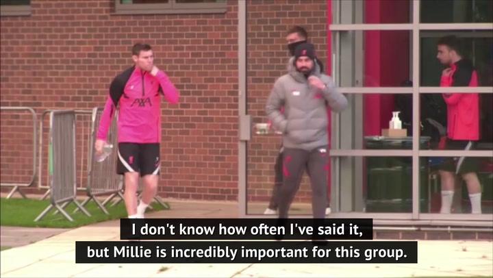 Klopp credits influence of 'massively important' Milner