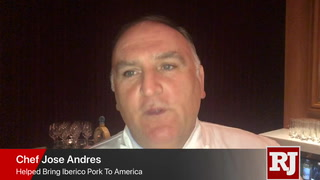 Jose Andres explains Iberico pork