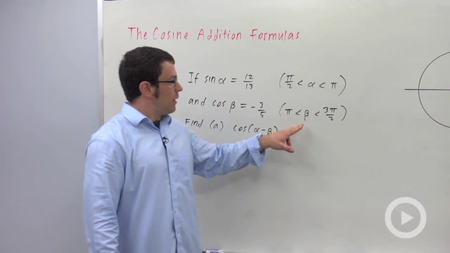The Cosine Addition Formulas - Problem 3