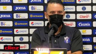 Araújo después de la derrota ante Motagua: