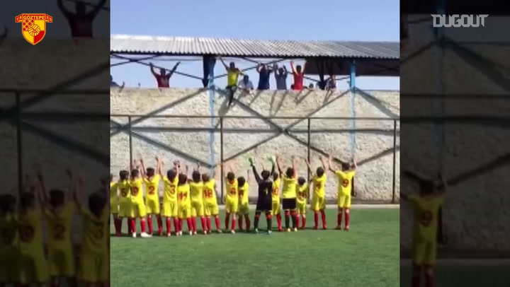 Göztepe U12 Team Championship Celebration