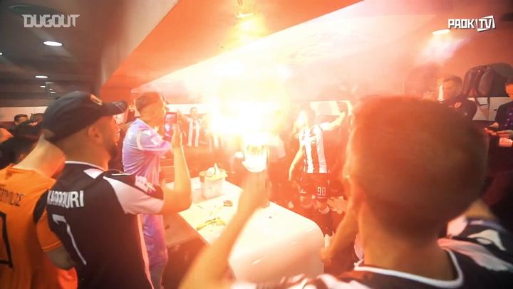 PAOK celebrates historic championship