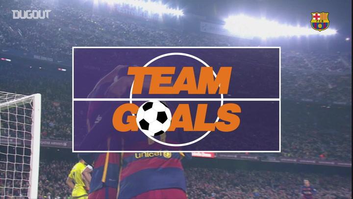 Team Goals: Leo Messi Vs Real Sociedad