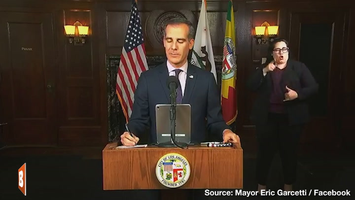 Eric Garcetti Asks Demoralized LAPD to 'Remember Why They Became Police Officers'