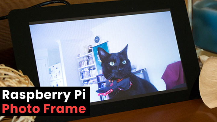 Raspberry Pi Photo Frame