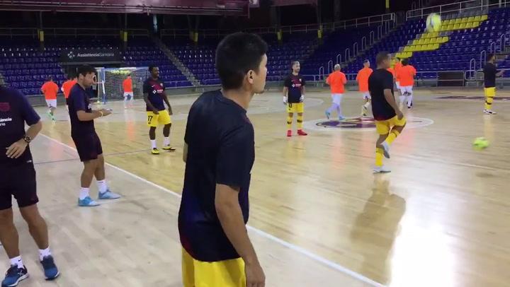 El Barça se estrena contra La Unión Santa Coloma
