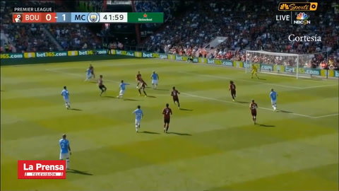 Bournemouth 1-3  Manchester City  (Premier League)
