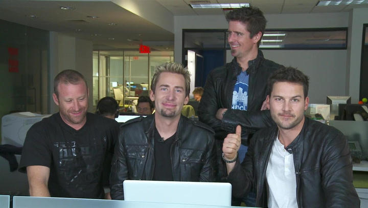 Nickelback Tackles Fan Question About a Man With Tits: #TBT 2012