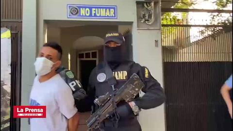 Detienen a supuesto distribuidor de drogas del barrio Cabañas