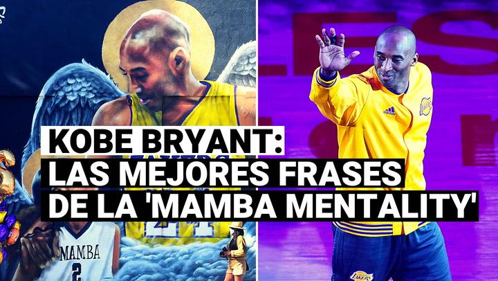Un año sin Kobe Bryant: repasa las mejores frases de la 'Mamba Mentality'