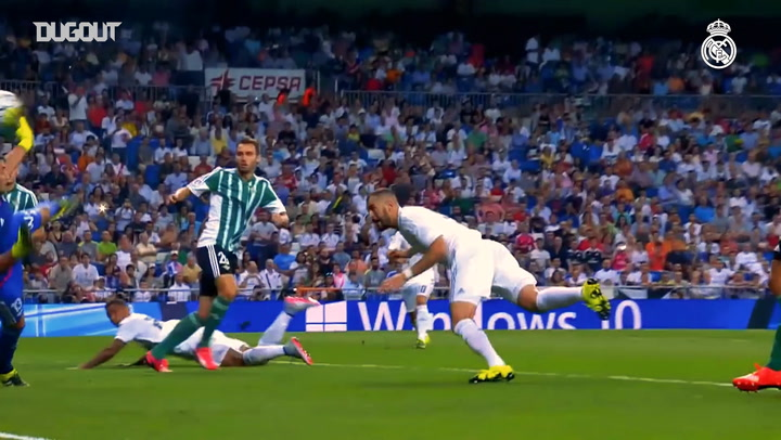 REAL MADRID'S BEST GOALS AGAINST BETIS