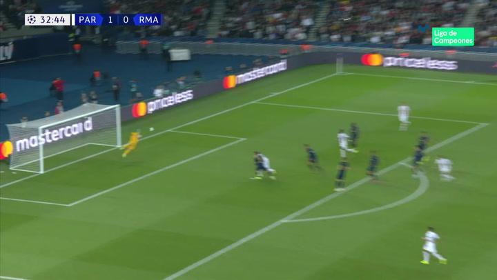 Champions League: PSG - Real Madrid. Gol de Di Maria (2-0)