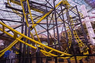 El Loco Rollercoaster at Circus Circus' Adventuredome