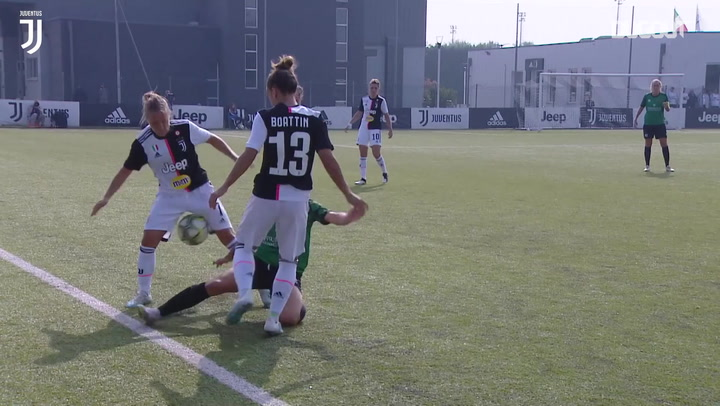 Juventus Women's best tackles of 2019-20