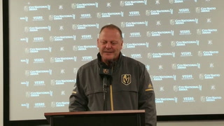 Golden Knights coach Gerard Gallant on team's chemistry