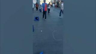 Gas lacrimógeno y enfrentamientos: Volvieron los disturbios al estadio Nacional por cierre de portones\