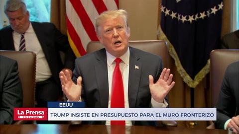 Noticiero LA PRENSA Televisión, edición completa del 3-1-2018. Trump insiste en presupuesto para el muro fronterizo