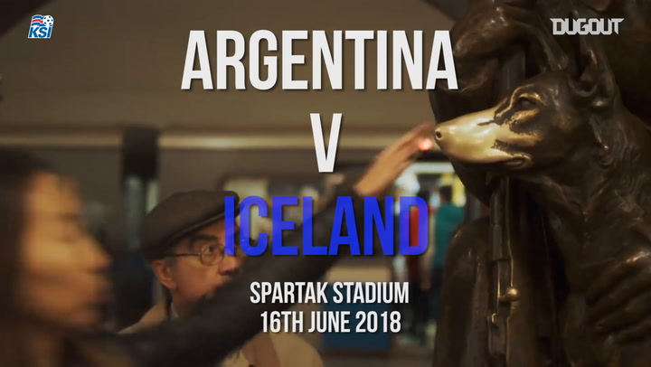 Iceland's World Cup Group Matches