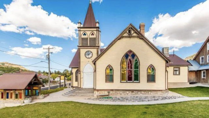 Converted Utah Church Comes With a Miniature Mining Town