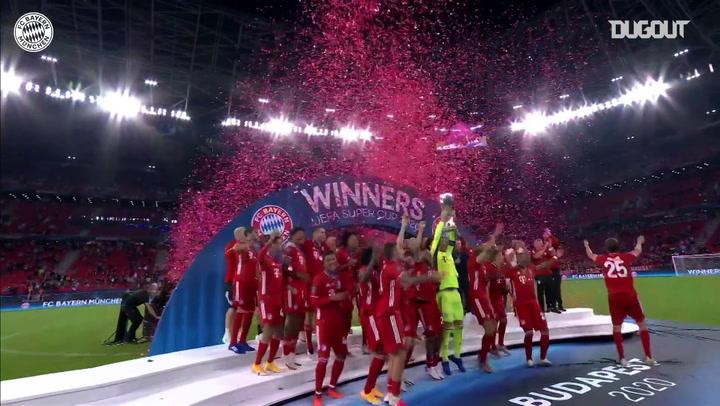 Bayern Munich vô địch Siêu cúp mùa giải 2020