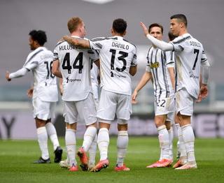 Juventus venció a Genoa en la liga italiana, Cristiano Ronaldo se fue en blanco