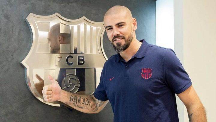 Oficial: Víctor Valdés, nuevo entrenador del Juvenil A del Barça