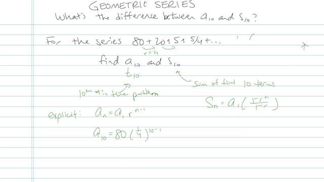 Geometric Series - Problem 7