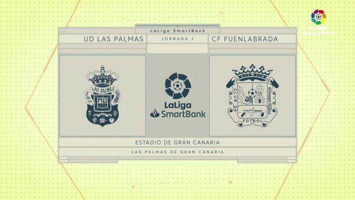 LaLiga Smartbank (Jornada 2): Las Palmas 3-3 Fuenlabrada