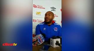 Wilson Palacios regresa a los entrenamientos con el Olimpia