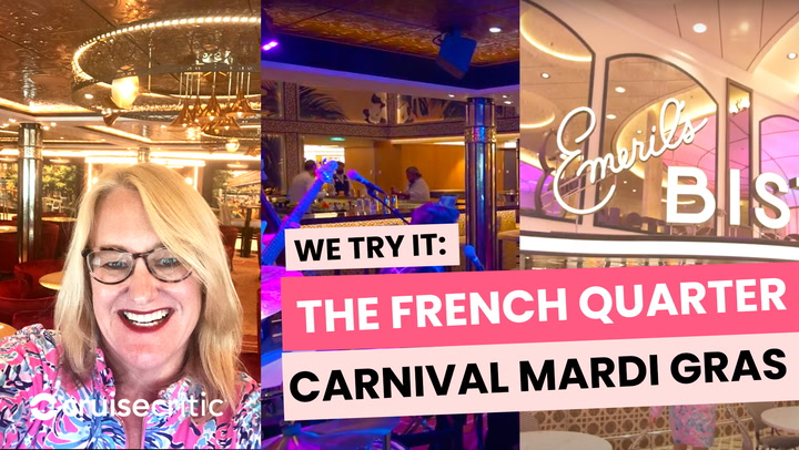 Live from Carnival Mardi Gras: the French Quarter