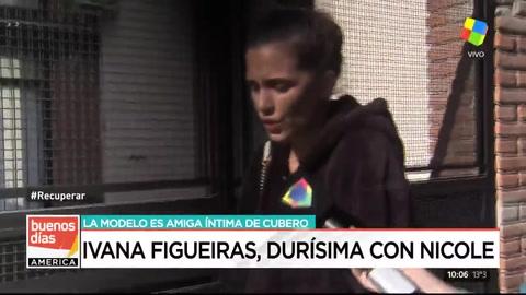 Ivana Figueiras se metió en la pelea entre Nicole y Cubero