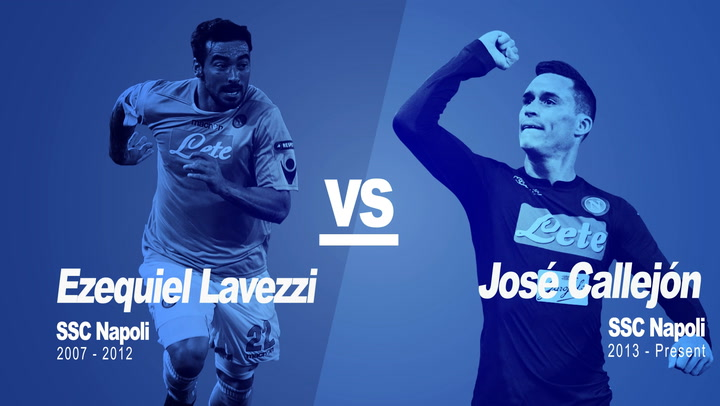 Past vs Present: Lavezzi vs Callejón