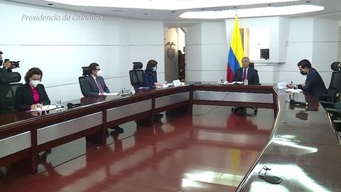 La ONU pide a Colombia