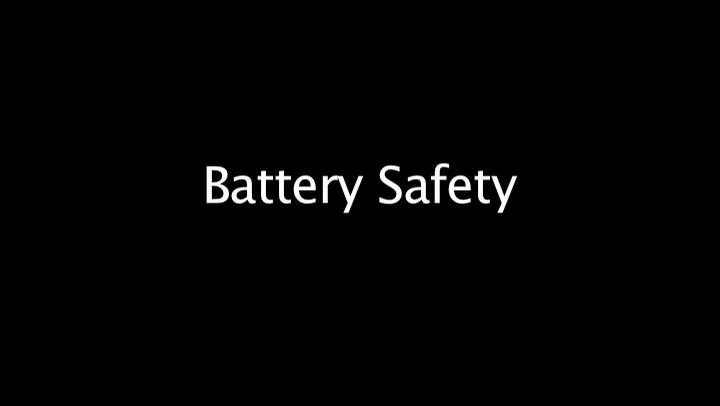 Battery Safety- The American Garage