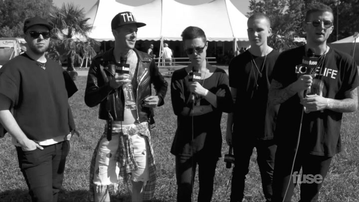 Festivals: Firefly 2013: The Neighbourhood Talk Opening for Imagine Dragons & Rap Influences