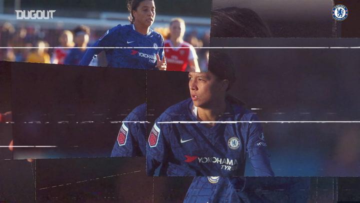 Chelsea striker Sam Kerr's goalscoring pedigree