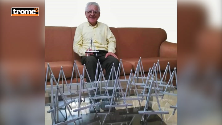 Trabajó reparando artefactos y a sus 78 años la rompe haciendo porta celulares | Emprende Trome