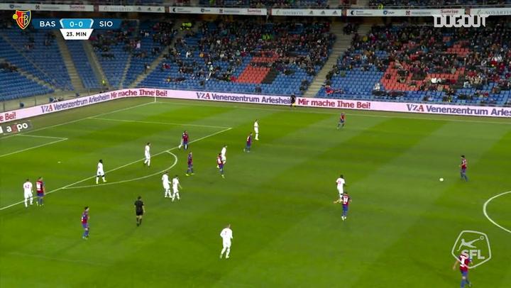 Eray Cömret outstanding goal vs Sion