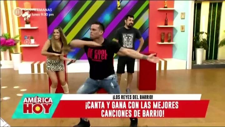 Christian Domínguez bailó 'Tic Tic Tac' en duelo de baile