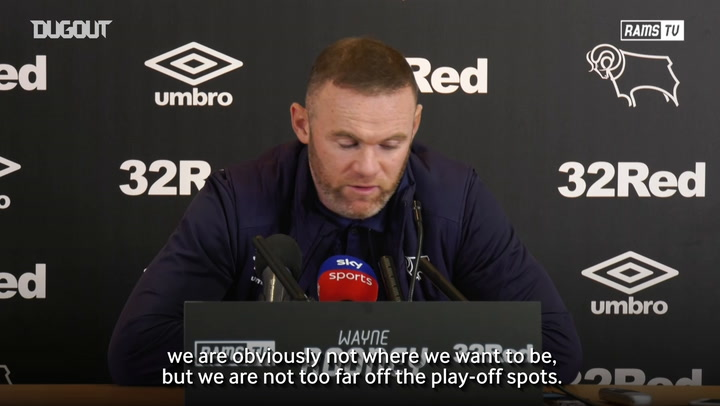 Rooney: 'Play-Offs are still achievable'