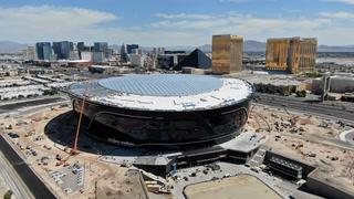 Crews finish Allegiant Stadium roof panel installation in just over a month