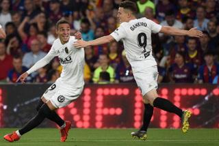 ¡GOL DEL VALENCIA! Rodrigo anota el 2-0 contra el Barcelona en la Copa del Rey
