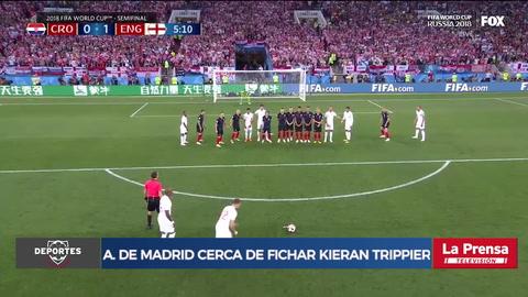 Atlético de Madrid a un paso de fichar a inglés Kieran Trippier