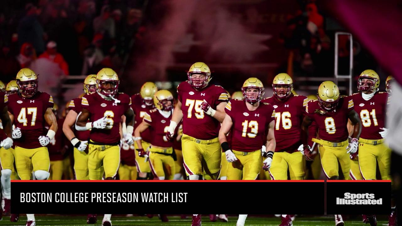 Boston College Preseason Watchlist