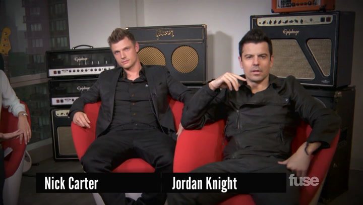 "Nick Carter & Jordan Knight Explain ""Sexy"" New Collaborative Album"