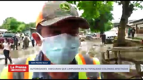 Autoridades municipales aseguran que limpiarán en su totalidad la Céleo González, Rivera Hernández y Chamelecón