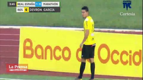 Real España 2-0 Marathón (Liga Nacional)