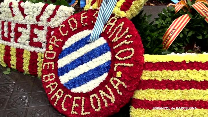 El Espanyol, presente en la Diada