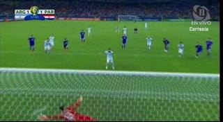 Lionel Messi pone el empate para Argentina ante Paraguay en la Copa América