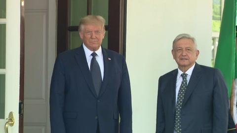 Trump y López Obrador se elogian mutuamente y destacan la